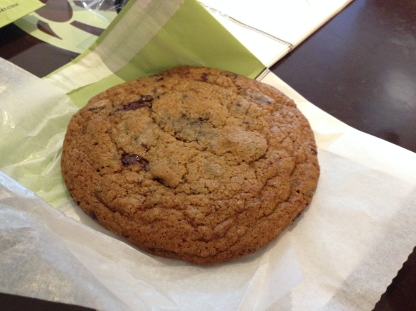 Bouchon Bakery's Chocolate Chip Cookie, simple, staid, classic, and pretty damn tasty.