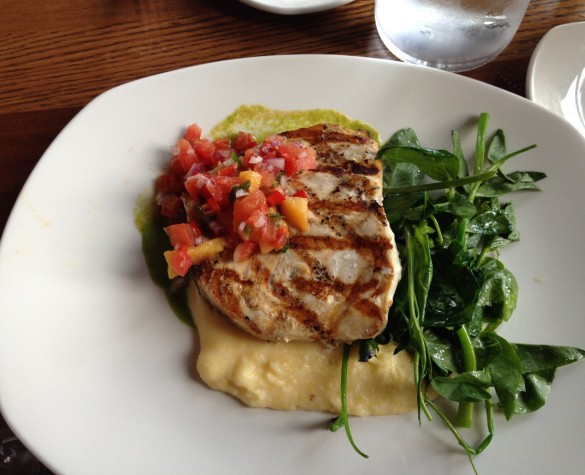 The Grilled Block Island Swordfish, unlike any piece of swordfish Ive